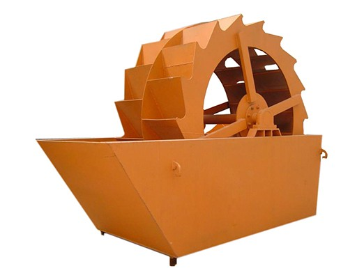 Wheel Bucket Sand Washing Machine