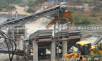 Crushing dry separation equipment in Sao Paulo, Brazil