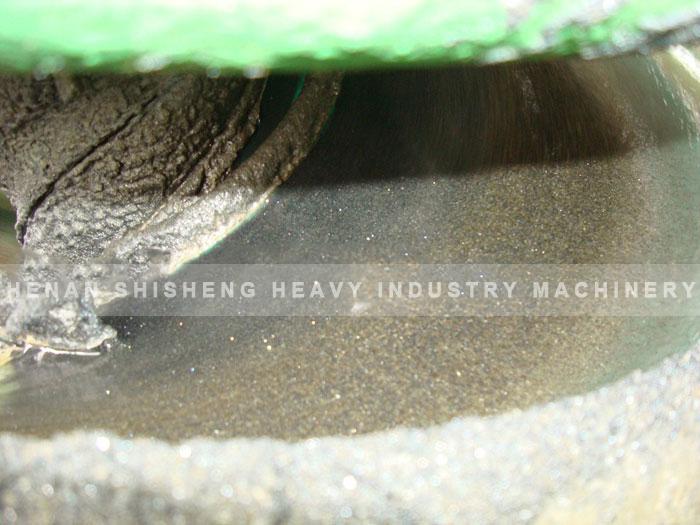 Titanium ore dressing spot in Vietnam - chute ore dressing method-03